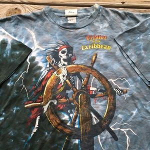 Vintage Pirates of the Caribbean Tee Shirt